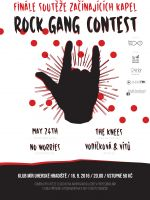 Rock Gang Contest 2016: MAY 24TH, No Worries, The Knees, Vodičková & Vítů
